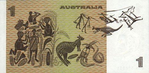 1 австралийский доллар 1974
