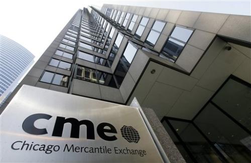 Здание биржи CME