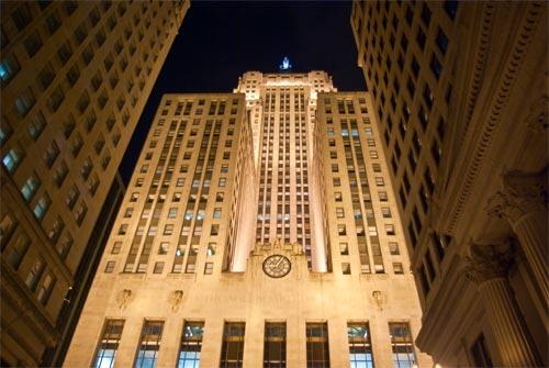 Здание CBOT в Чикаго