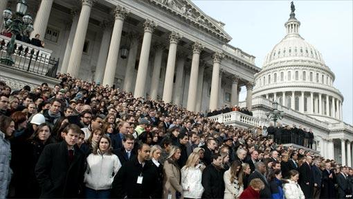У здания Конгресса США