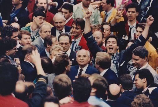 Горбачев на бирже CME